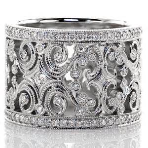 filigree wedding band filigree wedding bands jewelers