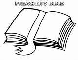 Coloring Bible Preacher Preachers Template Utilising Button Print sketch template