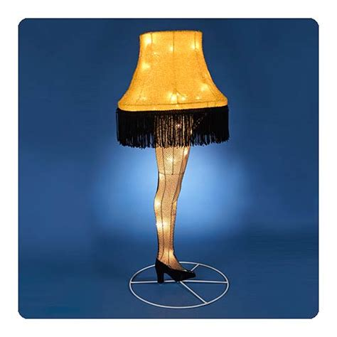 a story leg l light up tinsel display