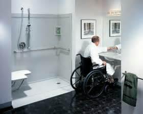 ada bathroom design handicap bathrooms on handicap bathroom roll in showers and showers