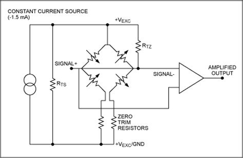 Pressure Transducer Circuit Diagram by Theory Of Biomedical Measurements And Transducers