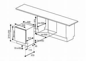 60 Cm Fully Integrated Dishwasher  Sliding Door