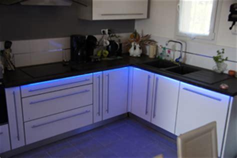 re lumineuse led pour cuisine deco led eclairage idées déco pour les cuisines