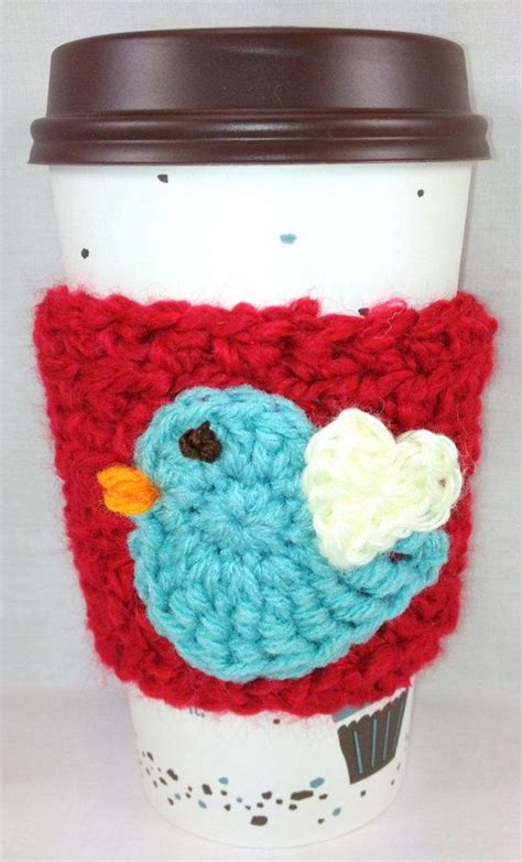 cool crochet coffee cozy ideas tutorials hative