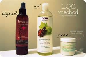 LOC Method Natural Hair Products