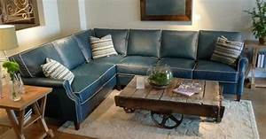 Navy blue sectional sofa with white piping mjob blog for Navy blue sectional sofa with white piping