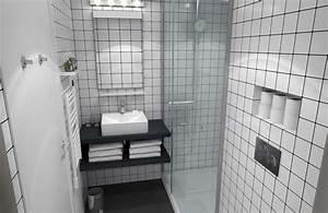 best salle de bain faience blanche images amazing house With carrelage salle de bain design