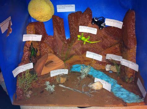 Canyonlands Desert Diorama School Project