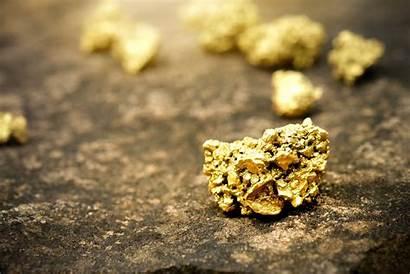 Gold Ore Pure Mine Stone Found Floor