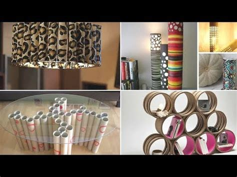 ideas  reciclar tubos de carton reutilizar tubos youtube