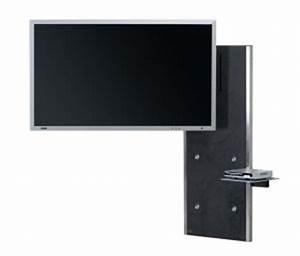 Wandhalterung Für Tv Geräte : moderne flatscreen wandhalterung in den raum frei schwenkbar und um 360 grad drehbar ~ Sanjose-hotels-ca.com Haus und Dekorationen