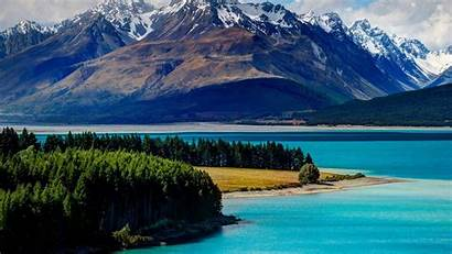 Lake Zealand Tekapo Amazing Nz Lakes Water