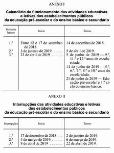 Calendário Escolar 20182019 » Blog DeAr Lindo