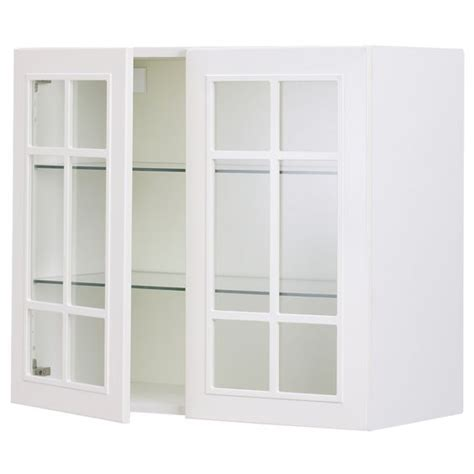 glass fronted wall cabinet 215 30 x 30 glass front wall cabinet akurum wall