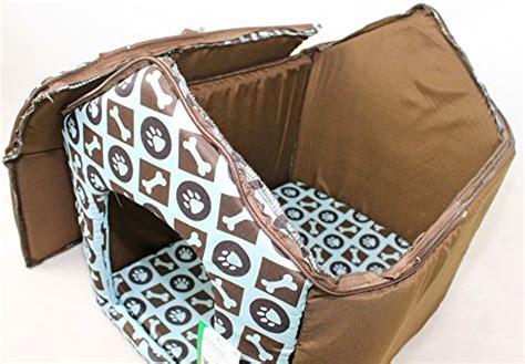 luxury soft plush fabric dog house  detatchable roof