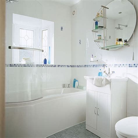 Bathroom With Modern Accessories  Bathrooms Mirror