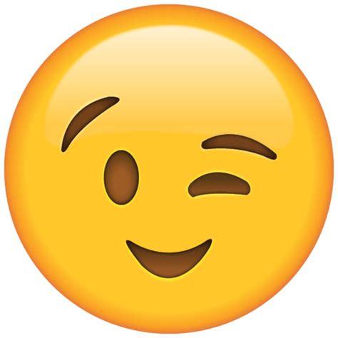 wink emoji icon emoji island