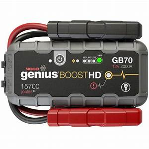 Gb70 Noco Genius Gb70 Boosthd Jump Starter And Power Bank