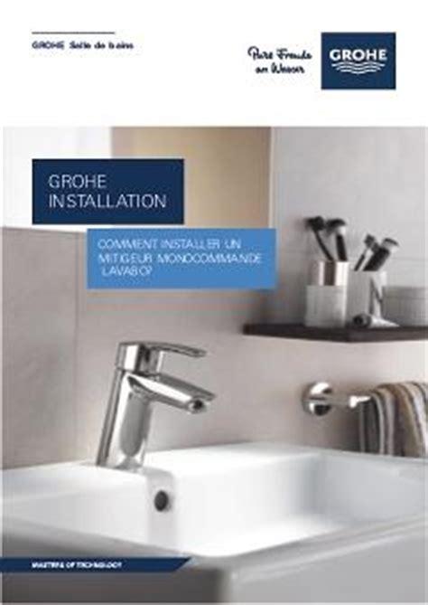 comment installer un robinet lavabo tuto grohe