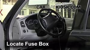 Interior Fuse Box Location  1995-2001 Ford Explorer