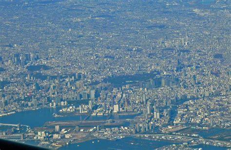 aerial view  tokyo satellite image aerial