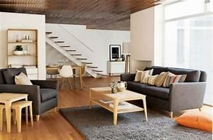 Grau Und Braun Kombinieren Möbel : wohnzimmer grau in 55 beispielen erfahren wie das geht ~ Frokenaadalensverden.com Haus und Dekorationen
