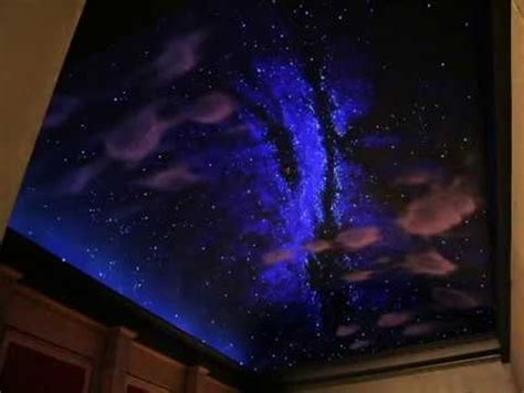 Painting Stars On Ceiling by Home Theater Night Sky Mural Lee Bivens Worlds Finest