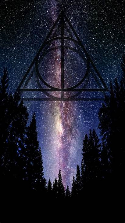 Deathly Hallows Potter Harry Symbol Wallpapers Iphone