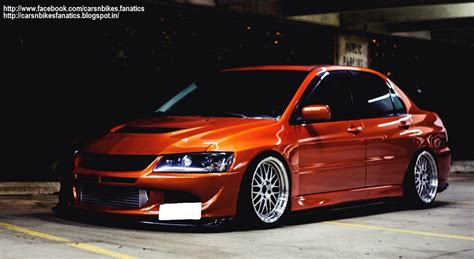 modified mitsubishi lancer car bike fanatics modified mitsubishi lancer evolution 8