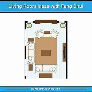 81 Feng Shui Living Room Rules  Colors And 12 Layout