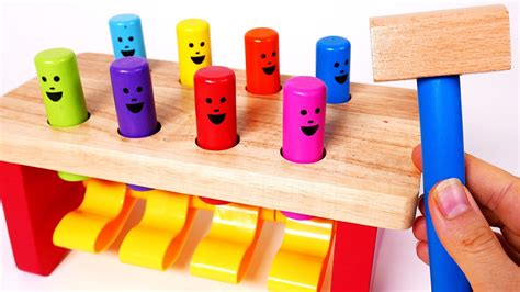 learn colors  children learning toys  kids wooden
