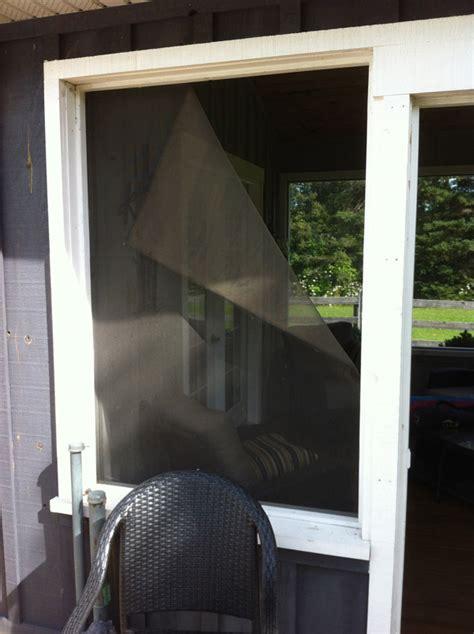Sunroom Rescreening And Repair  Screen Repair Man Screen