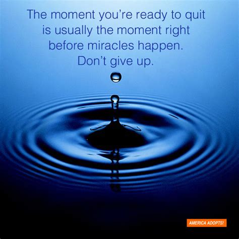 Waiting For Miracle To Happen Quotes