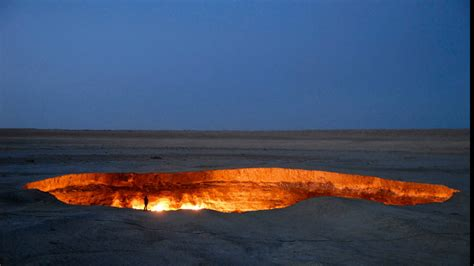The Door To Hell Is A Natural Gas Field In Turkmenistan
