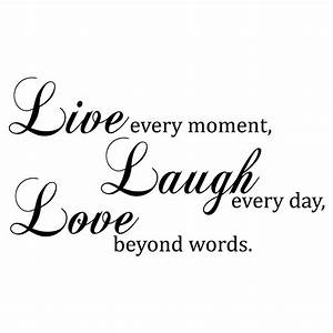Love Quotes Images: live love laugh quotes and sayings