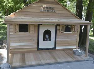 Lovely insulated dog house plans for large dogs free new for Large insulated dog house