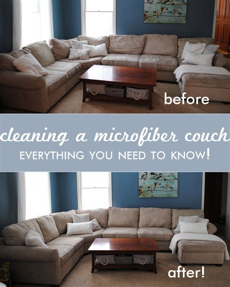 Cleaning Couches by Cleaning A Microfiber All You Need To 187 One