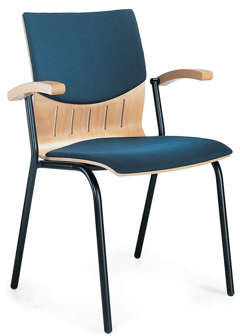 upholstered conference chair with arms band 1