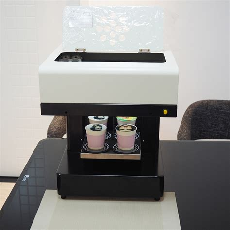 Cino printer coffee is 3d printer that print in color brown on cappuccino, coffee, ice cream, beer, milkshake,drink, cookies and not only. Aliexpress.com : Buy Top sell!4 cups Latte Art 3d Coffee Printer,Coffee Printer Machine for ...
