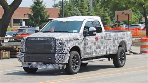 2020 Ford Super Duty Spied In A Construction Zone