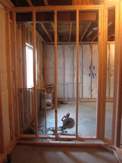 framing  basement bathroom floating walls framing