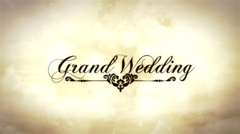 after effects template secret files grand wedding by efekt studio videohive