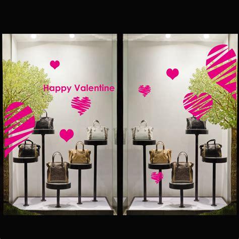 stickers pour vitrines de magasins sticker valentin 3 ambiance sticker