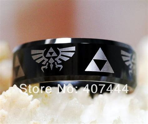 legend of zelda men s wedding ring geeky wedding rings