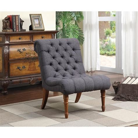 coaster 902217 grey fabric accent chair a sofa