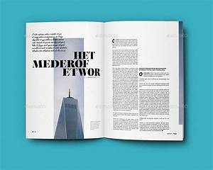 indesign templates for books - indesign a4 magazine template 2 by sacvand graphicriver