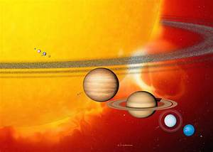 Sun And Its Planets Photograph by Detlev Van Ravenswaay