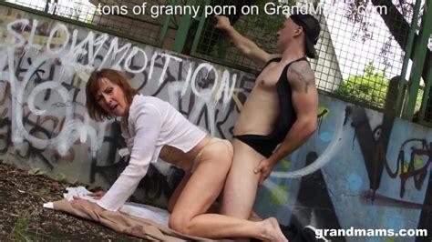 Granny Enjoys Public Sex At The Basketball Court Porn B5