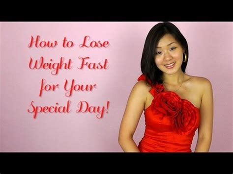 lose weight fast   special day youtube