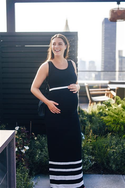 pregnant date night chic lets jess